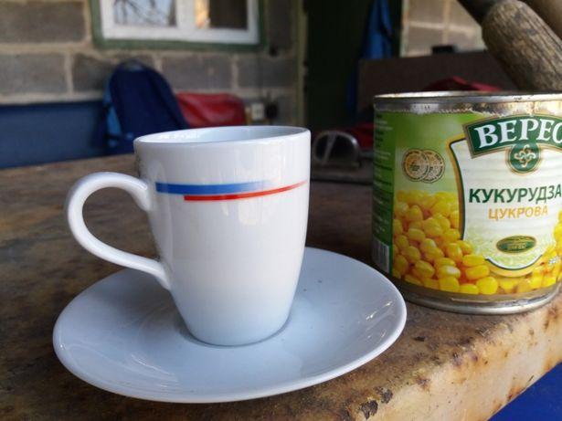 Чашка для кофе с блюдцем