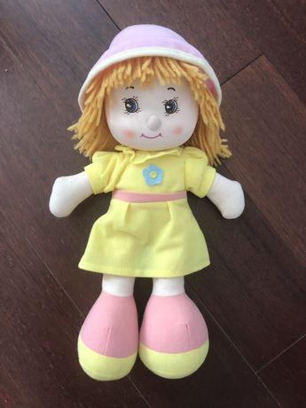 Красивая мягкая кукла 37 см рост