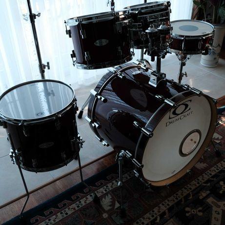 perkusja  drumcraft   6 w idealnym stanie