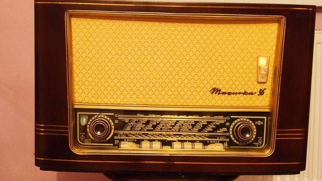 Radio lampowe Mazurka 940