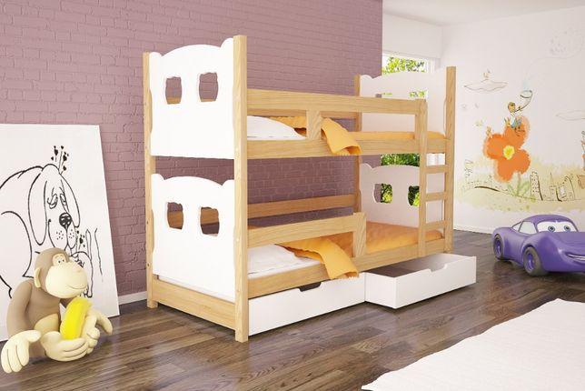 Łóżko dziecięce Olek piętrowe dla dwójki osób!