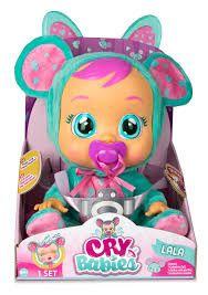 Интерактивная Кукла плакса IMC Toys Cry Babies Lala Doll Мышка ЛАЛА