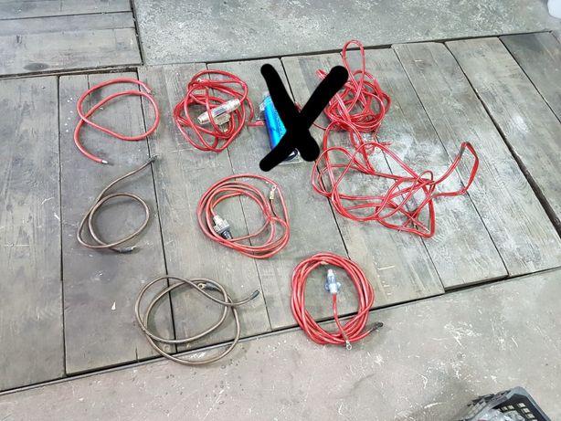 Car audio kondensator kable czincze grube nie marketuwki