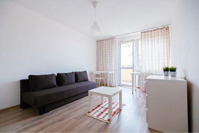 Duzy pokoj 1-2 osobowy, Forum Gliwice- Chodkiewicza, balkon