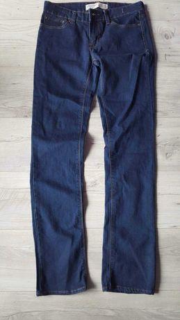 Denim nowe granatowe spodnie jeansowe jeansy zara h&m reserved