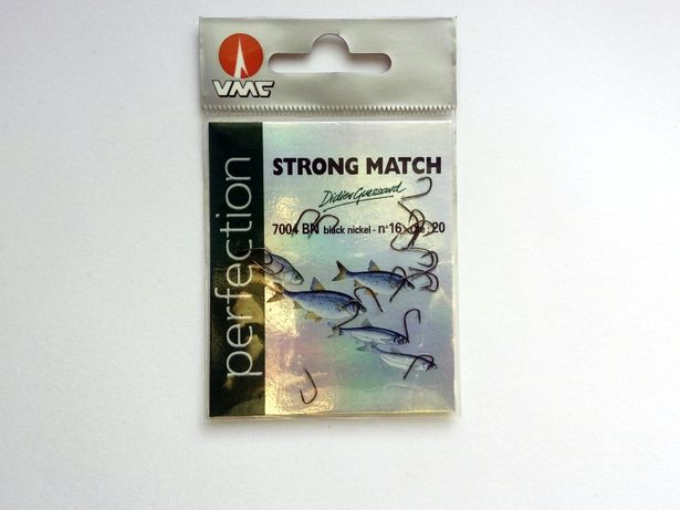 Haczyki VMC Perfection Strong Match 7004 r 14, 16