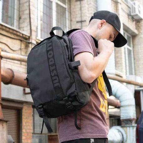 Спортивный мужской черный рюкзак NIKE PUMA найк пума дорожный 73