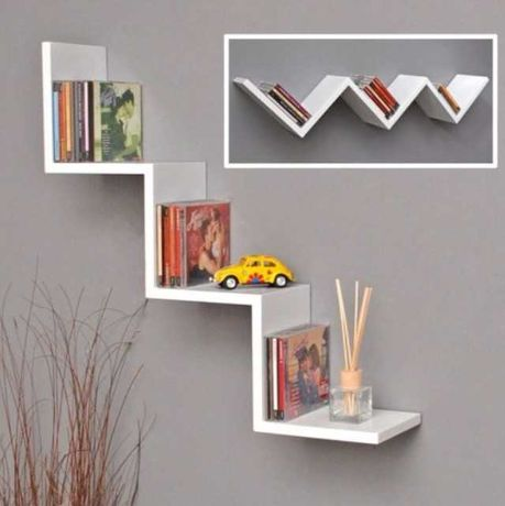 Estante livros Ikea lack para parede