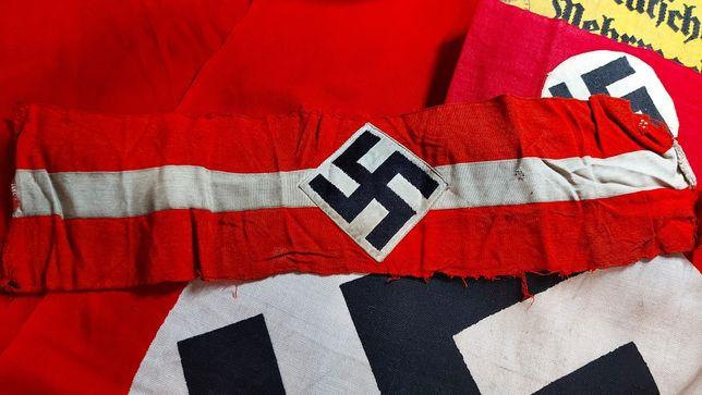 Braçadeira Hitlerjugend ORIGINAL armband Alemanha nazi-suástica