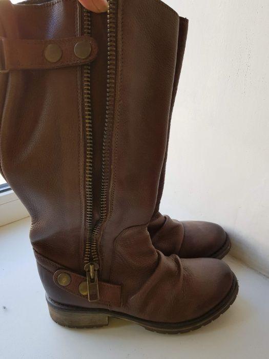 Steeve madden новые кожаные сапожки для стильных!! Киев - изображение 1