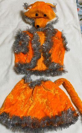 Костюми новорічні лисичка