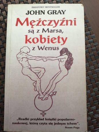 Książka Kobiety są z Wenus a Mężczyźni z Marsa.
