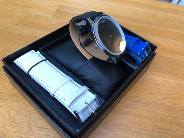 Наручные подарочные часы Jivma 68 + 2 ремешка унисекс