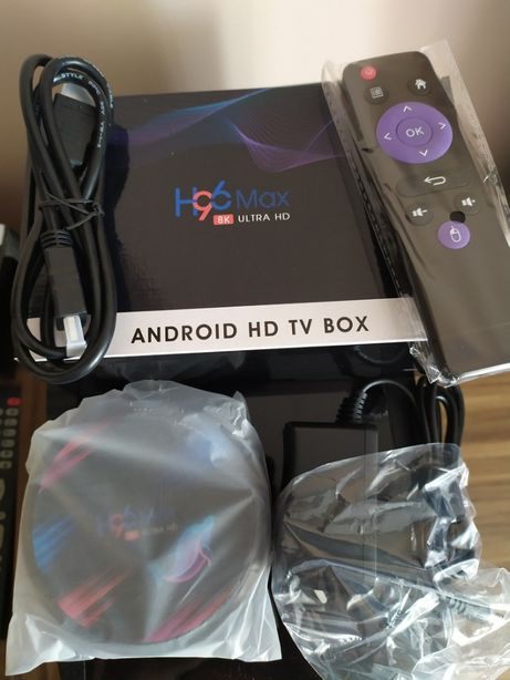 H96 Max X3 Smart 4GB 32GB TV BOX IPTV Netflix Hbo android atv S905X3