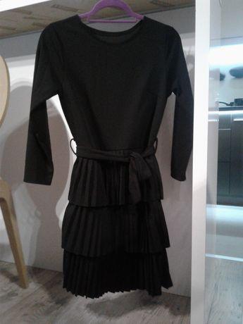 sukienka czarna Nowa r. S