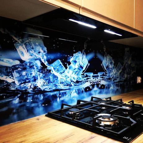 Panele szklane z grafiką, szkło do kuchni, lacobel