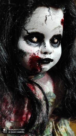Laleczka creepy creepydoll. Horror. Sztuka