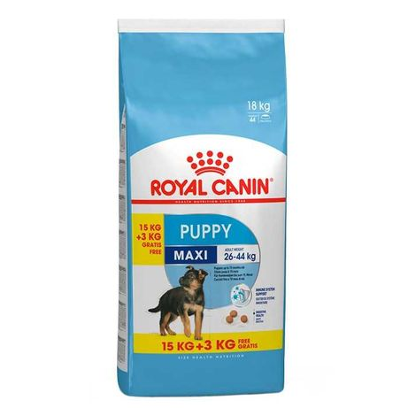 Royal Canin Maxi Puppy 15kg + 5kg - PORTES GRÁTIS
