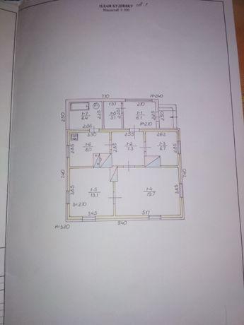 продається житловий будинок в центрі Любешова, земельна діл. 0.12 га,