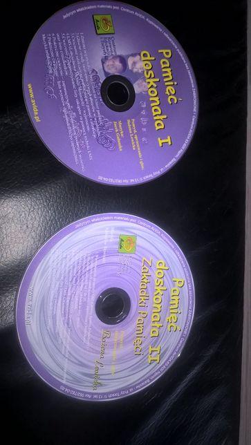 Pamięć doskonała część 1 i 2 avida Bożena Lewicka zakładki pamięci CD