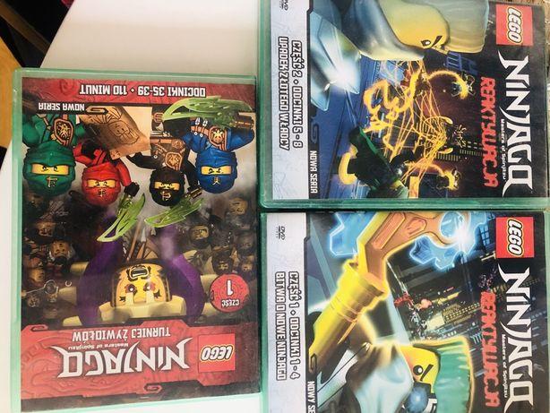 Lego Ninjago DVD - 3 płyty