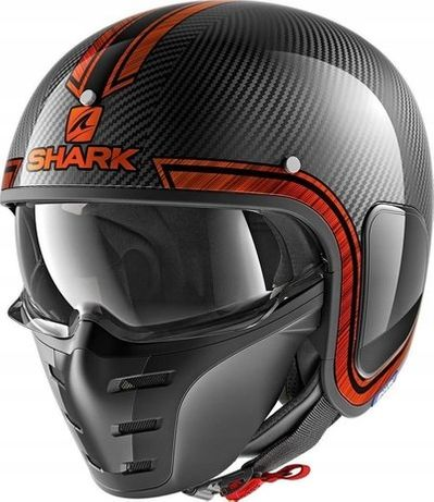 KASK Carbon SHARK S-DRAK Motocyklowy Rozmiar XS- Polecam