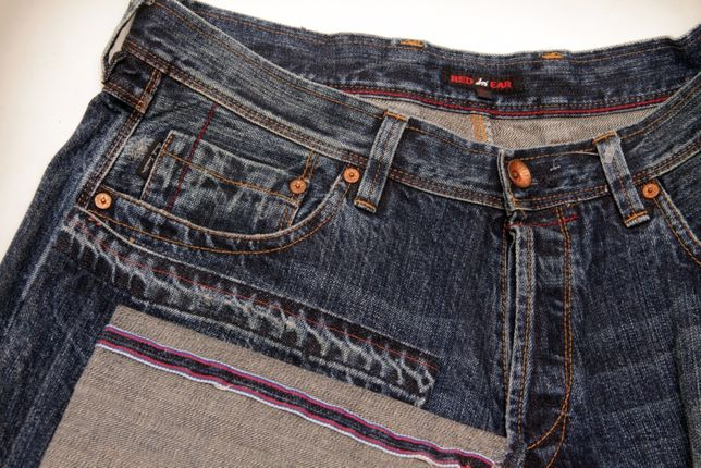 Paul Smith Red Ear 34 selvedge denim (selvage селвидж) джинсы