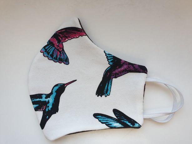 Maseczka Ochronna Kolibry