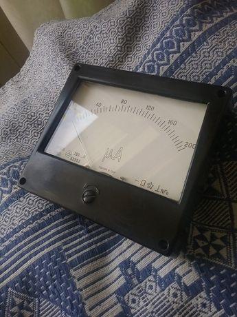 микроамперметр стрелочный м906 ссср рабочий (200 мка)