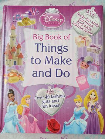 Книга на английском для детей Big book of Things to make and do