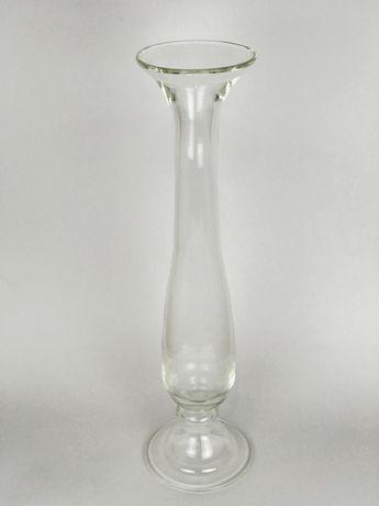 Скляна ваза висока підсвічник стеклянная ваза подсвечник