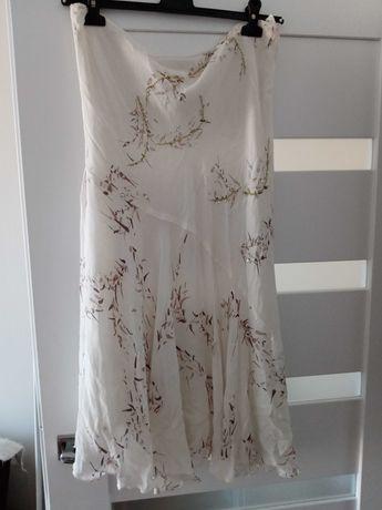 Spódnica kremowa roz xl