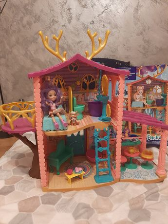 Enchantimals domek jelonków + gratisy