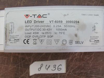 Блок питания для ламп V-TAC VT-6069 ГЕРМАНИЯ