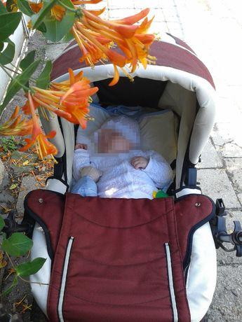 Wózek baby actice 2w1, nowa cena 70 zł