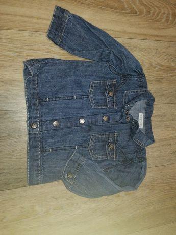 Джинсовый пиджачок для модниц