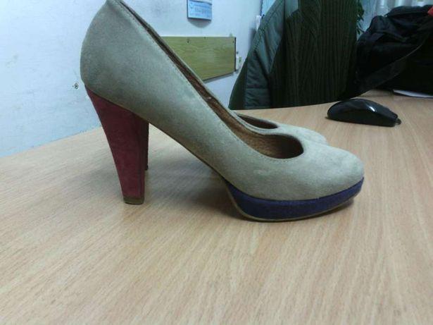 Туфли замшевые размер 38