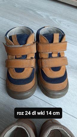 Buty jesienne bartek 24 dł wkładki 14cm