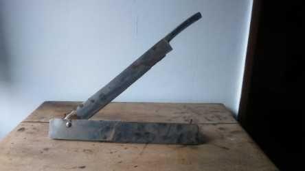 faca de corte de bacalhau