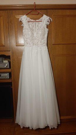 Piękna suknia ślubna Agnes