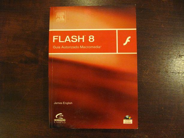 "Livro ""Flash 8 - Guia Autorizado Macromedia"""