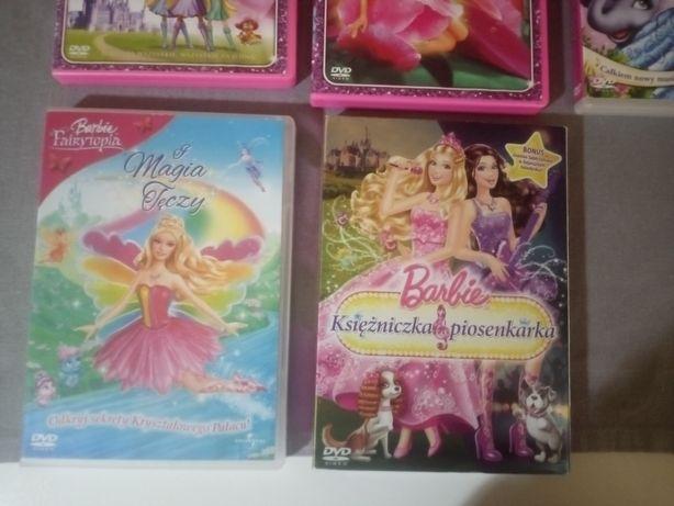 Płyty dvd Barbie Fairytopia Mermaidia Syrenkolandia Super Księżniczki