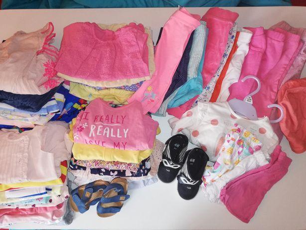 Mega paka ubranek dla dziewczynki 3-6, next, m&s,h&m newbie sukienki,