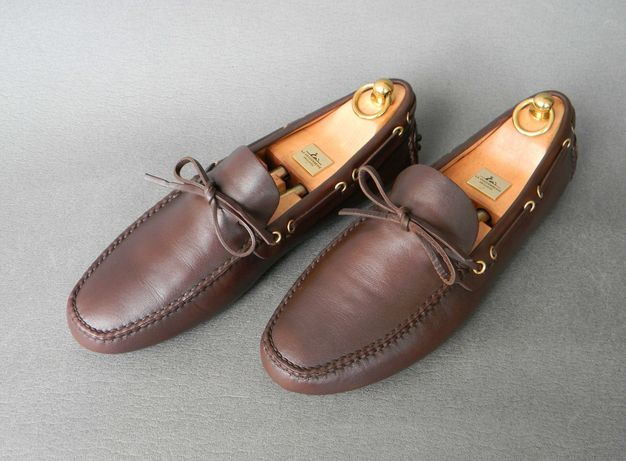 Мокасины, лоферы Car Shoe, Made in Italy (не Gucci Louis Vuitton)