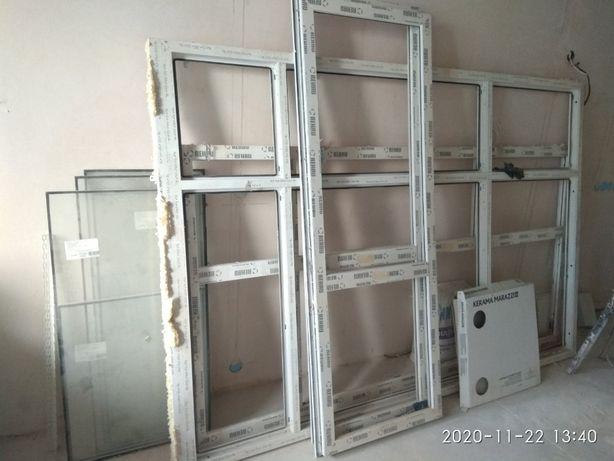 Продам, пластиковые окна, балконные блоки бу 7000 за все грн