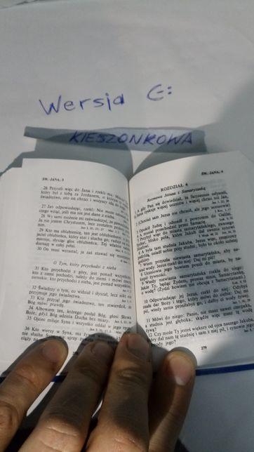 Prezent Pismo Święte - Biblia - Nowy Testament + Psalmy