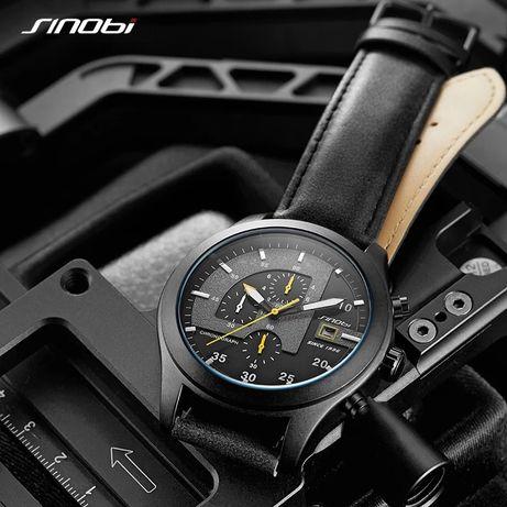 Часы мужские хронограф Sinobi