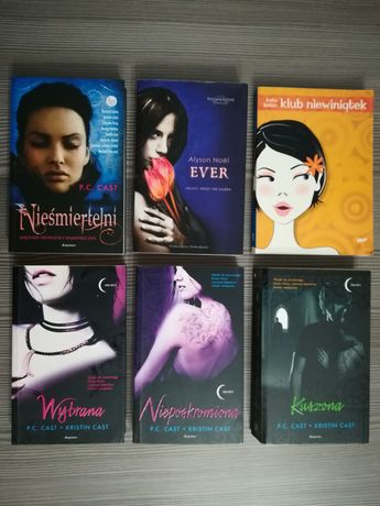 Zestaw książek dla nastolatków