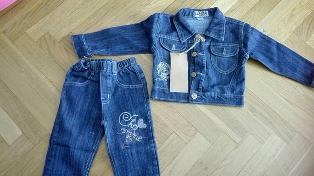 Nowy komplet jeans