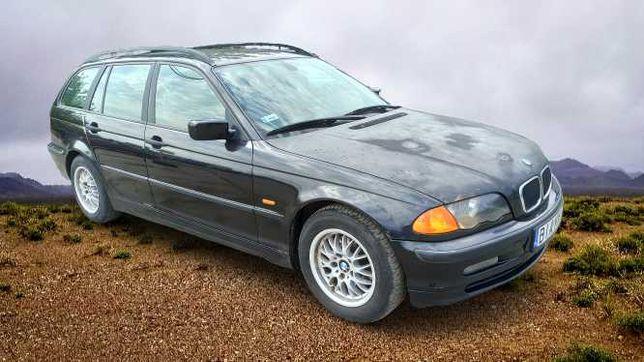 BMW 320 TD - 2000 r., 136KM, Opłaty, Sprawna klima ! Hak